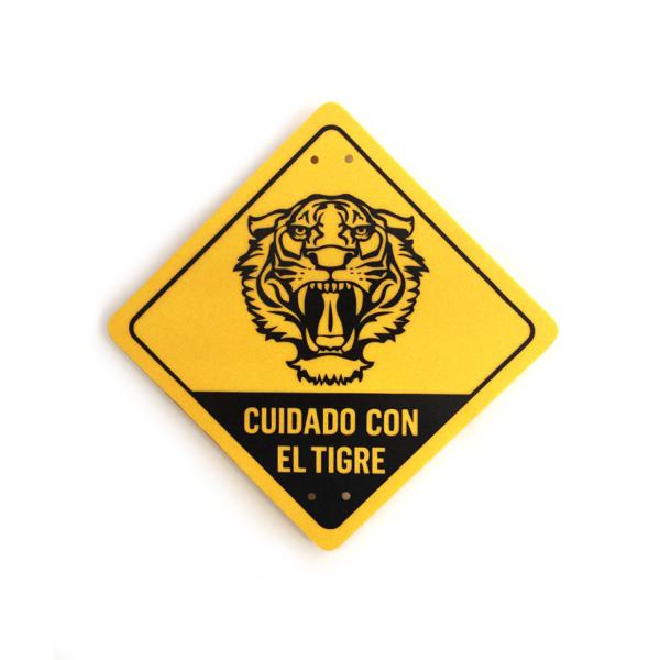 Cuidado con el tigre